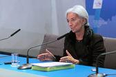 Christine Madeleine Odette Lagarde — Stock Photo