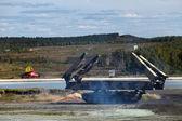 Armoured vehicle-launched bridge (AVLB) — Stock Photo