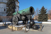 King-cannon (Tsar-pushka) in Kremlin. Moscow. Russia — Stock Photo
