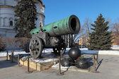King-cannon (Tsar-pushka) in Kremlin. Moscow. Russia — Stock Photo