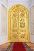 Doors in Georgievsky hall — Stock Photo