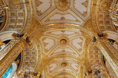 Golden ceiling — Stock Photo