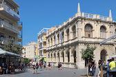 Old Town Hall, Iraklion (Heraklion), the urban landscape. Island of Crete, Greece — Stock Photo