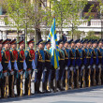 Guard of honour — Stock Photo
