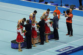 Awarding of winners — Stock Photo