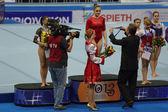 Awarding of winners — ストック写真