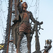 Monument to Peter the Great in Moscow — Stock Photo