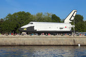 Buran spacecraft — Stock Photo