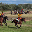 Borodino battle — Stock Photo