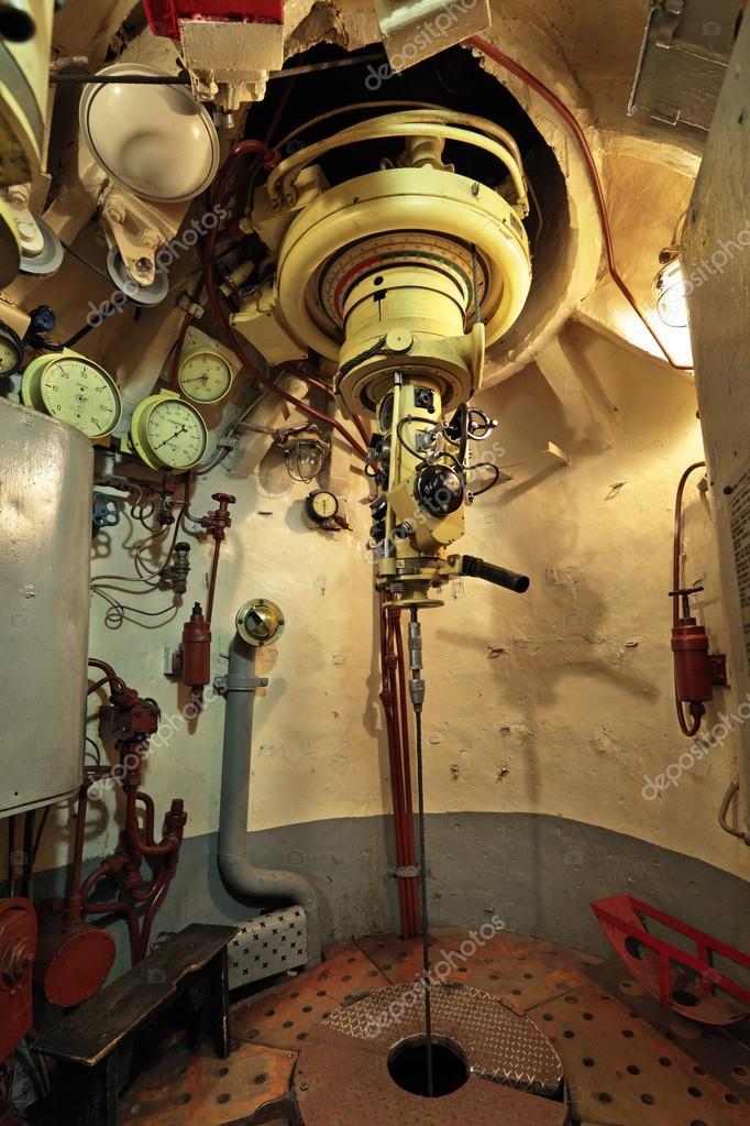 прибор в подводной лодке наблюдения