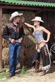 A couple of cowboys — Stock Photo