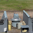 Stock Photo: Ship quick-firing cannon at military landfill