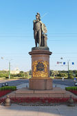 Monument voor suvorov in sint-petersburg — Stockfoto
