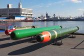 Marine underwater weapons — Stock Photo