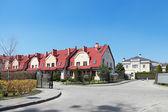 Luxury property in Kaliningrad (Russia) - townhouses — 图库照片