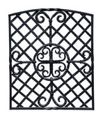 Iron grille — Stock Photo