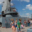 Ship cruiser Aurora — Stock Photo
