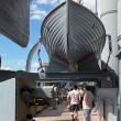 Stock Photo: Ship cruiser Aurora