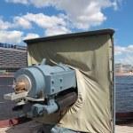 ������, ������: Cannon on ship cruiser Aurora