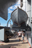 Ship cruiser Aurora — Stock Photo