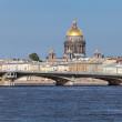 blagoveshchensky brug — Stockfoto