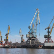 Stock Photo: Commercial port