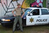 Policeman — Stok fotoğraf