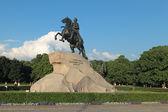 青銅の騎士 — ストック写真
