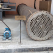 Stock Photo: Tubular heat exchanger