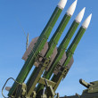 Stock Photo: Buk missile system