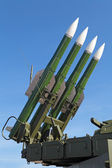 Buk missile system — Stock Photo