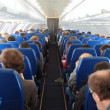 Airplaine interior — Stock Photo #40129029