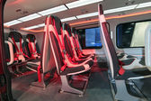 Salon of helicopter — Stock Photo