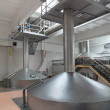 Stock Photo: Interior of brewery