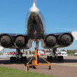 Stock Photo: Tu-144 engines