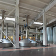 Interior of brewery — Stockfoto #40886235