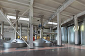 Interior of the brewery — Stock Photo