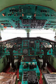 The cabin Tu-144 — Stock Photo