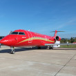 Bombardier Canadair Regional Jet — Stock Photo