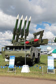 Buk missile system — Stock Photo