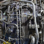 Jet engine — Stock Photo #46907387