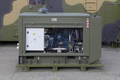 Diesel generator set — Stock Photo