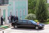 President's limousine — Stock Photo