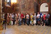 Orthodox pilgrims — Stock Photo