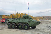 BTR-82A vehicle — Foto Stock