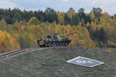 2S25 Sprut-SD tank — Stock Photo