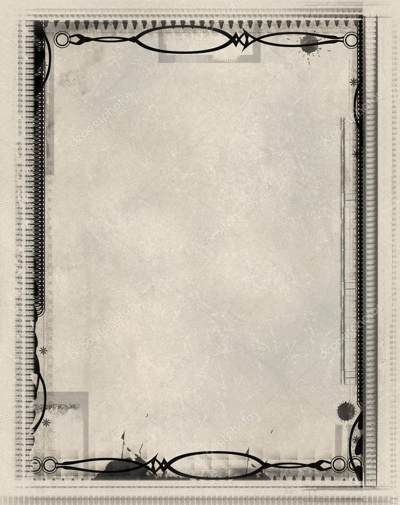纸的主题边框设计图片