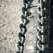 Metal chains — Stock Photo