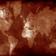 Grunge world map — Stock Photo #22666221