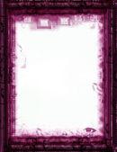 Grunge border and background — Stock Photo